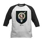 Blyth Clan Badge Tartan Kids Baseball Jersey