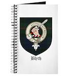 Blyth Clan Badge Tartan Journal