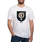 Blyth Clan Badge Tartan Fitted T-Shirt