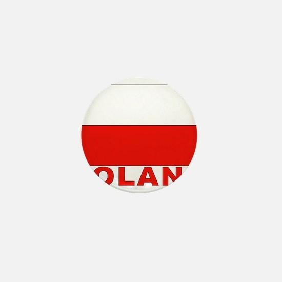 Poland Flag Mini Button
