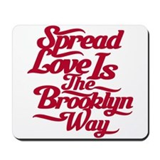 Brooklyn Love Red Mousepad