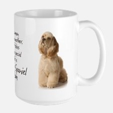 Cocker Mom Large Mug