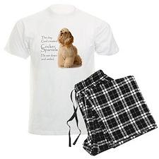 God Created Cockers Pajamas
