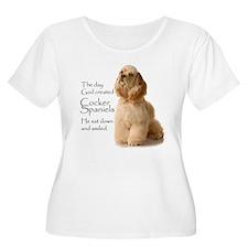 God Created Cockers T-Shirt