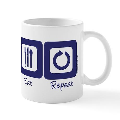 Sleep- Climb- Eat- Repeat Mug