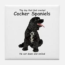Cocker Spaniel Tile Coaster