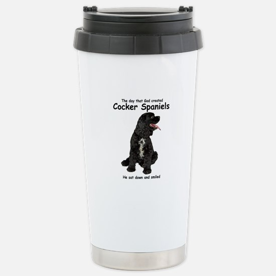 Cocker Spaniel Stainless Steel Travel Mug
