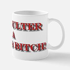 Anti-Ann Coulter Mug