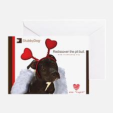 StubbyDog Cupid Greeting Card