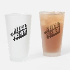Pedal Pusher Drinking Glass