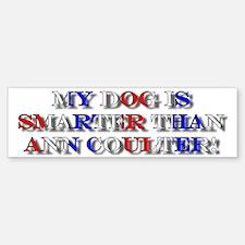 Anti-Ann Coulter Bumper Bumper Bumper Sticker
