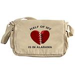 Heart In Alabama Messenger Bag
