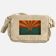 Vintage Arizona Flag Messenger Bag