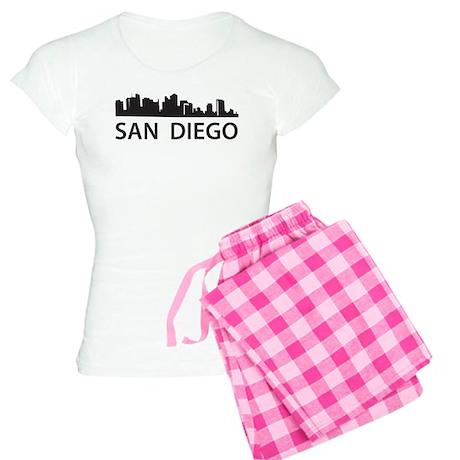San Diego Skyline Women's Light Pajamas
