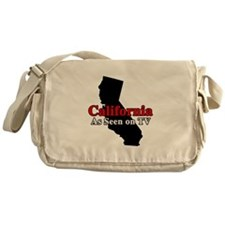 California Motto Messenger Bag