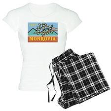 Monrovia Flag Pajamas