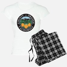 Orange County Seal Pajamas