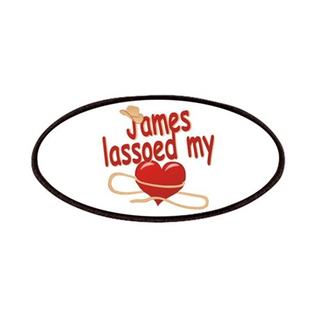 James Lassoed My Heart Patches