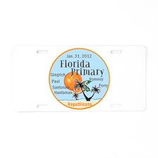 Florida Primary Aluminum License Plate