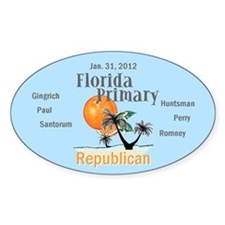 Florida Primary Decal
