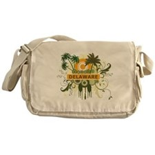 Palm Tree Delaware Messenger Bag