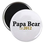 New Papa Bear 2012 Magnet
