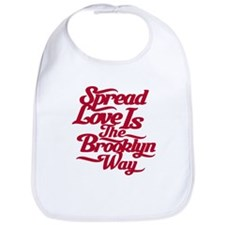 Brooklyn Love Red Bib