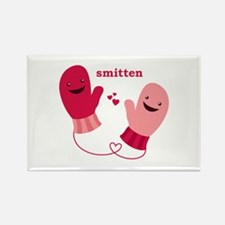 """Smitten"" Rectangle Magnet (100 pack)"