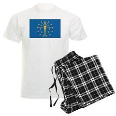 Indiana Flag Pajamas