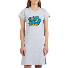Iowa Women's Nightshirt