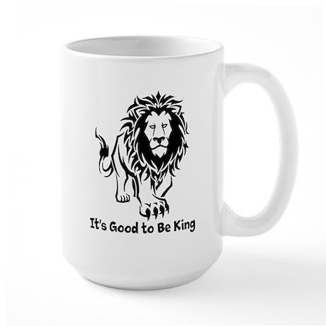Good to Be King Large Mug
