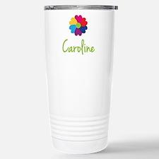 Caroline Valentine Flower Stainless Steel Travel M