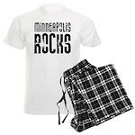 Minneapolis Rocks Men's Light Pajamas
