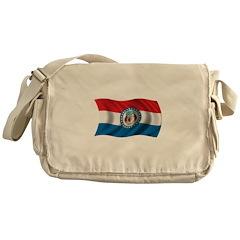 Wavy Missouri Messenger Bag