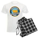 Montana Statehood Men's Light Pajamas