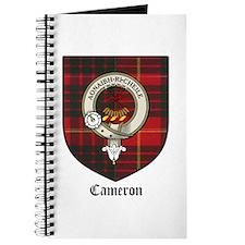 Cameron Clan Crest Tartan Journal