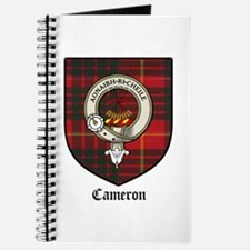 Cameron Clan Crest Tartan Journal