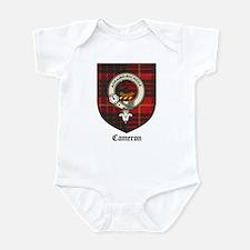 Cameron Clan Crest Tartan Infant Creeper