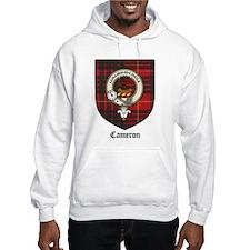 Cameron Clan Crest Tartan Hoodie