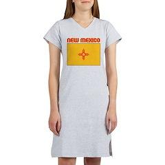 New Mexico Flag Women's Nightshirt