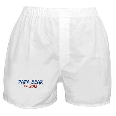 New Papa Bear 2012 Boxer Shorts