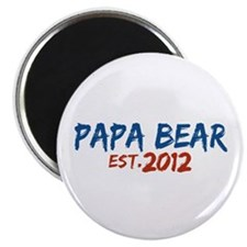 "New Papa Bear 2012 2.25"" Magnet (10 pack)"