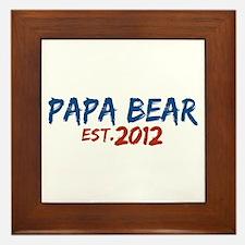 New Papa Bear 2012 Framed Tile