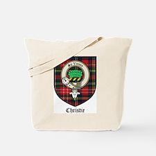 Christie Clan Badge Tartan Tote Bag