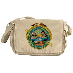 Oregon Seal Messenger Bag