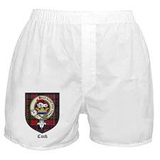 Cook Clan Badge Tartan Boxer Shorts