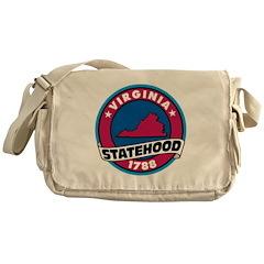 Virginia Statehood Messenger Bag