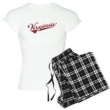 Retro Virginia Pajamas