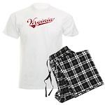 Retro Virginia Men's Light Pajamas