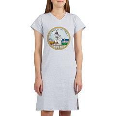 District Of Columbia Seal Women's Nightshirt